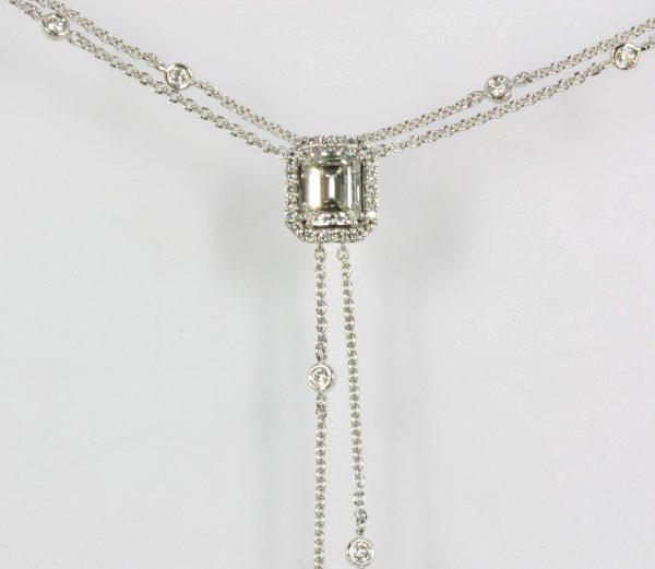 Noor witgouden collier