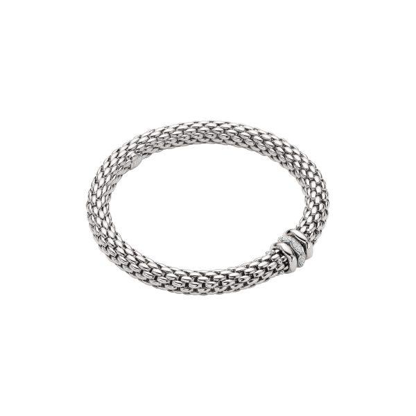Fope Love Nest witgouden armband