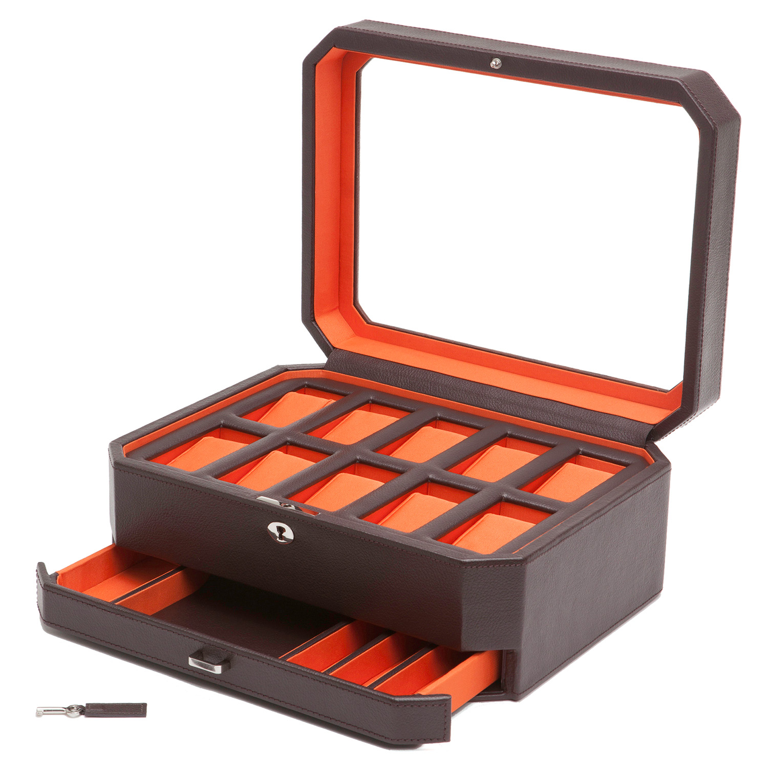 Wolf Windsor Watch Box voor 10 horloges met lade