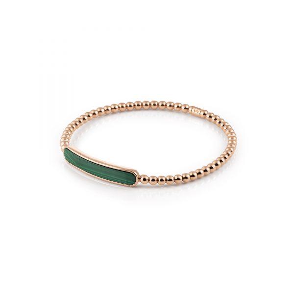 Al Coro Stretchy roségouden armband