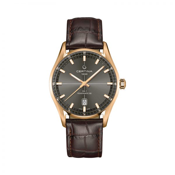 Certina DS 1 stalen herenhorloge
