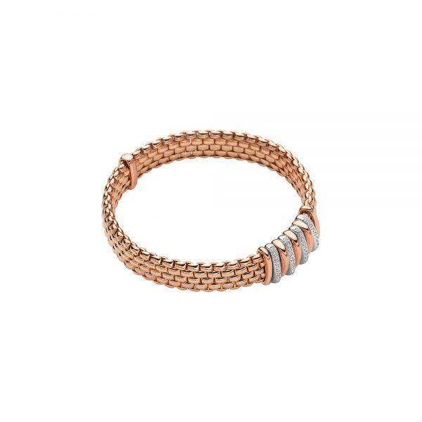 Fope Panorama roségouden armband