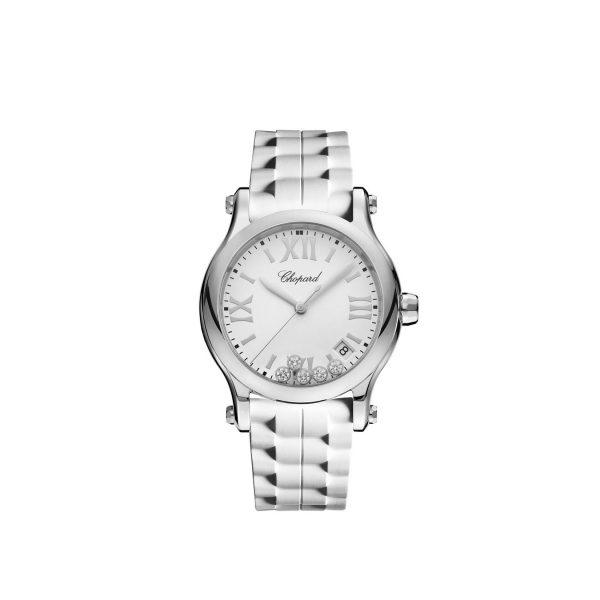 Chopard Happy Sport stalen horloge