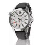 Sector Oversize Chronograph stalen herenhorloge