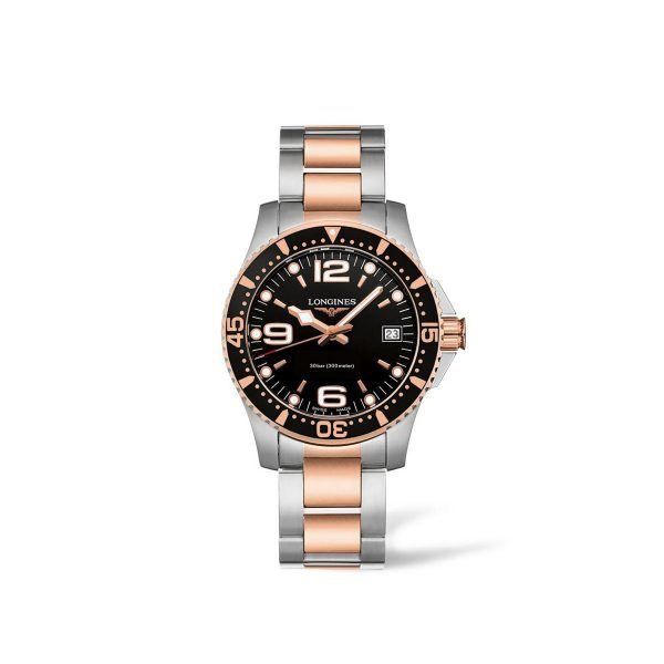 Longines HydroConquest staal/PVD dameshorloge