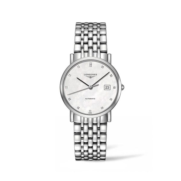 Longines Elegant Collection stalen dameshorloge