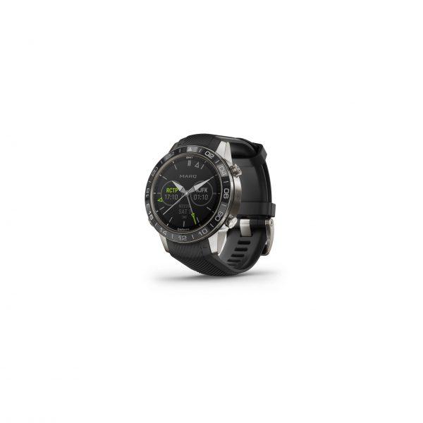 MARQ-Aviator Performance Edition stalen smartwatch