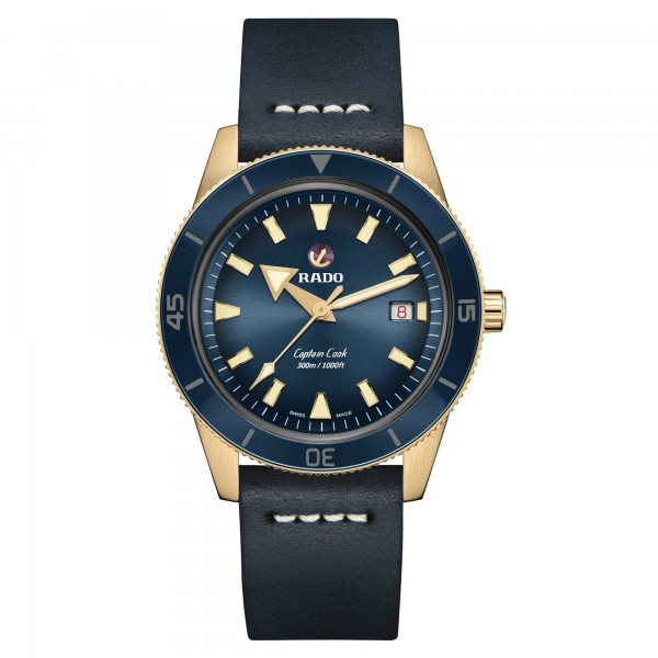 Rado Captain Cook bronzen herenhorloge