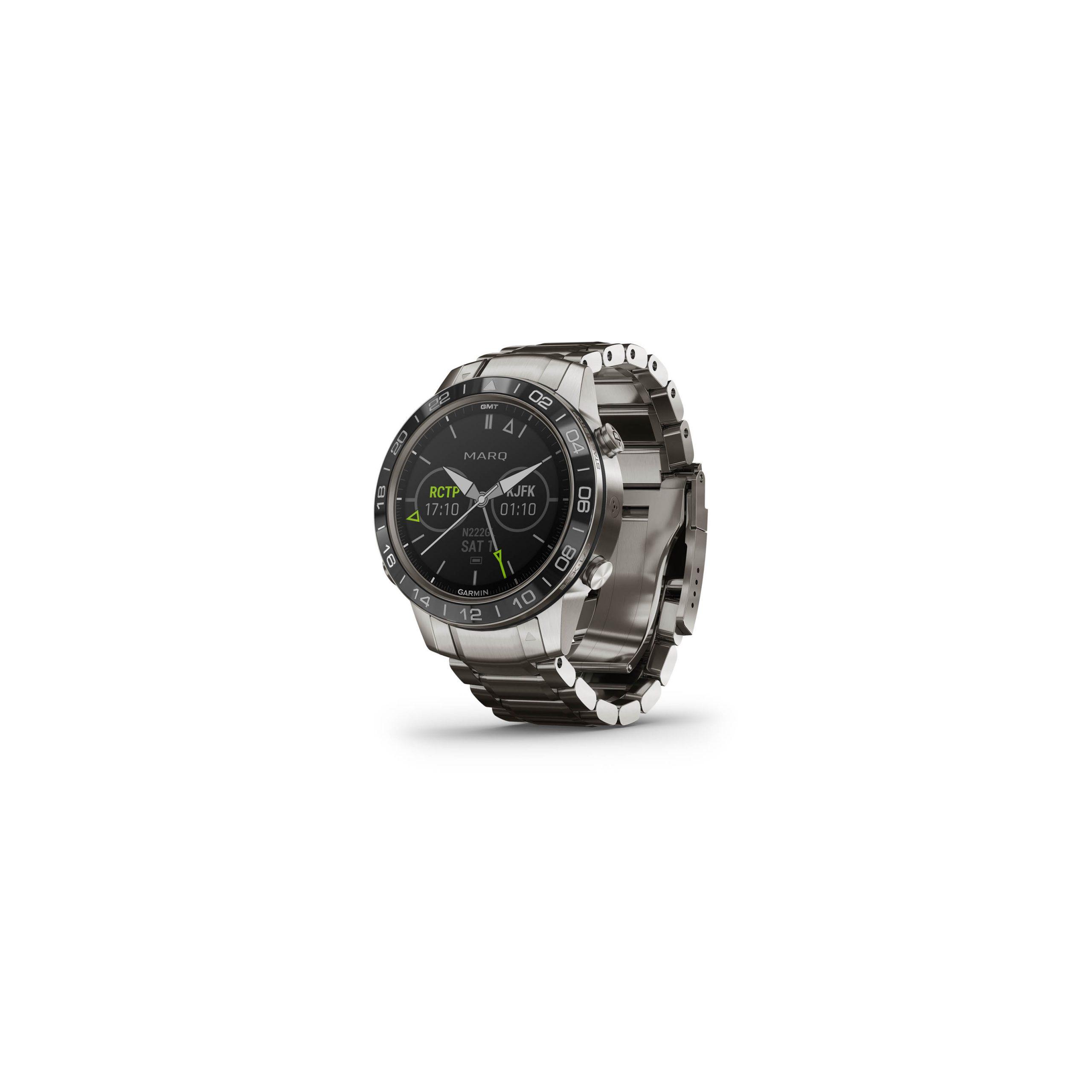 MARQ-Aviator stalen smartwatch