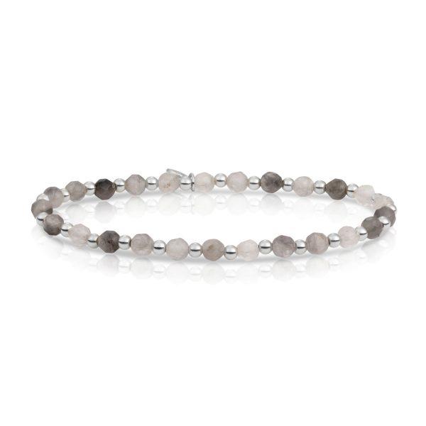 Sparkling Jewels Interstellar zilveren armband met Kwarts