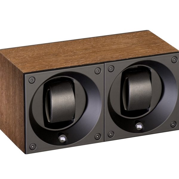 Swiss Kubik Wooden Masterbox Duo Natural Wenge Wood Mat