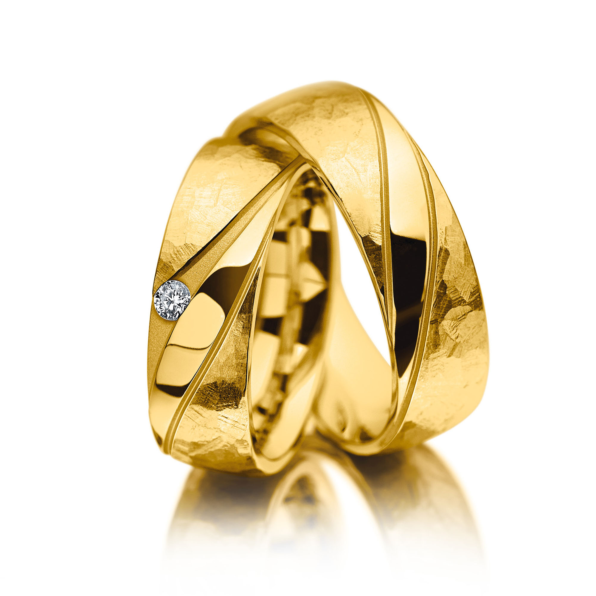 Meister Individuals geelgouden trouwring