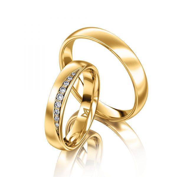 Meister Phantastics geelgouden trouwring